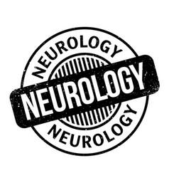 Neurology rubber stamp vector