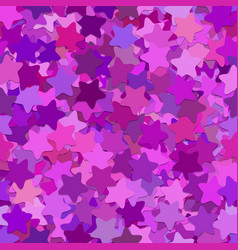 Repeating abstract geometric star pattern vector