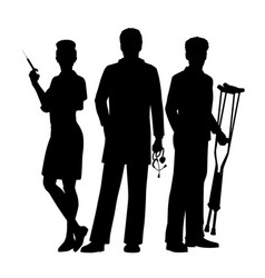 medical team vector image