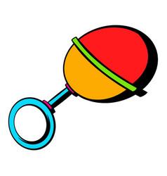baby beanbag icon icon cartoon vector image