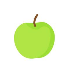 apple green ripe fruit icon vector image