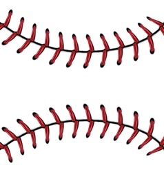 Baseball lace background5 vector