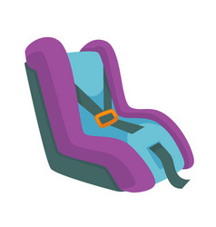 child safety seat infant restraint system vector image