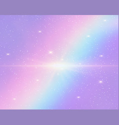 Galaxy fantasy background vector