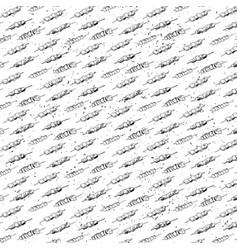 Hand drawn meatseamless pattern vector