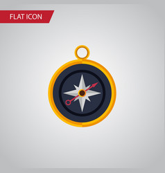 Isolated compass flat icon divider element vector