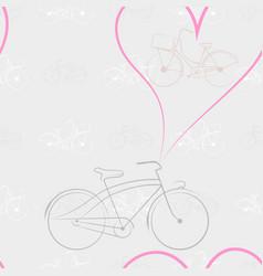 new pattern 2019 45 bike vector image