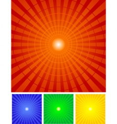 radial bag vector image