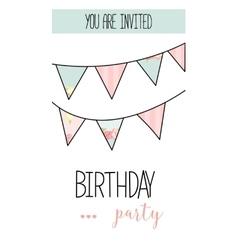 Romantic Invitation announcement or congratulation vector