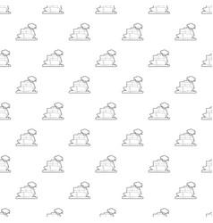 Ship pattern seamless vector