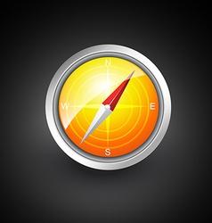 navigation compass vector image