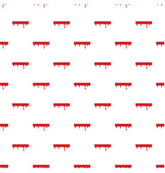 dripping down blood pattern vector image vector image