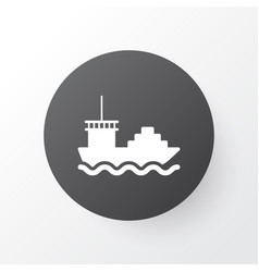 tanker icon symbol premium quality isolated cargo vector image vector image