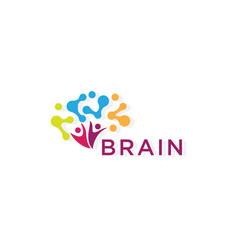Brain logo creative logo vector