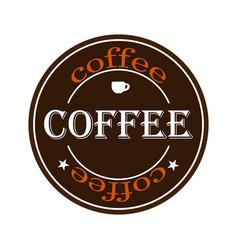 coffee logo eps 10 vector image