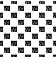 financial statistics pattern vector image vector image