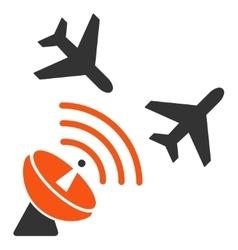 Flight Radar Icon vector