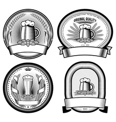 Four labels vector