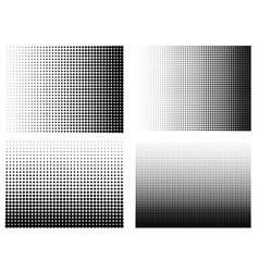Halftone gradient set half tone gradient vector