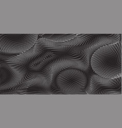 monochrome field visualization of forces vector image