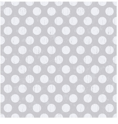 Seamless pattern with white polka dots vector
