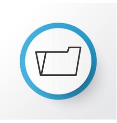 file folder icon symbol premium quality isolated vector image vector image