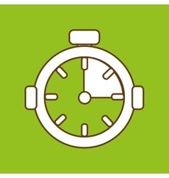 chronometer icon design vector image