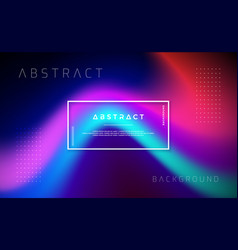 Abstract modern dynamic trendy background vector