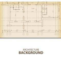 Architecture blueprint background fragment vector