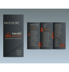 Business Brochure and flyer design template in vector image
