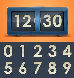 Clock 11 1 flipclock vs vector