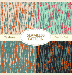 collection of seamless pattern backgrounds vector image
