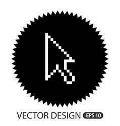 Computer icon design vector