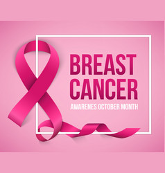 creative of breast cancer vector image