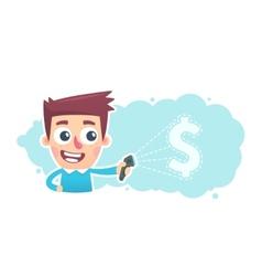 Financial scanner vector