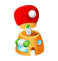 icon pingpong vector image