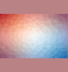 Multicolor abstract textured polygonal background vector