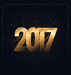 2017 background for new year celebration vector image vector image
