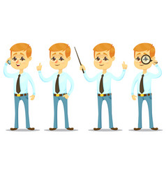 - funny cartoon guy with vector image