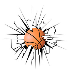 A basketball vector