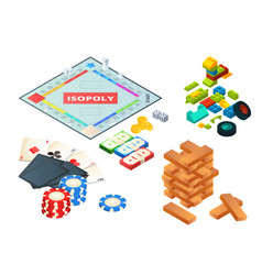 Board games and tools various tools for board vector