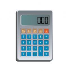 calculator vector image