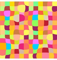 Colorful mosaic twisted background vector