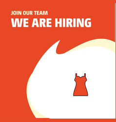 join our team busienss company girls skirt we are vector image