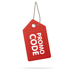 promo code coupon code flat set design on white vector image