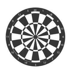 Target dart sport arrow icon vector