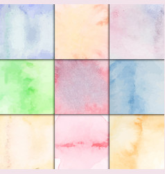 Watercolor paper board splash style pattern vector