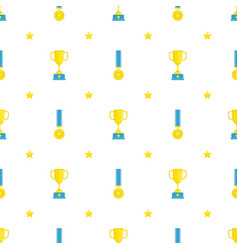 winners cup background vector image