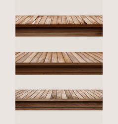 wood table top used for display or montage your vector image