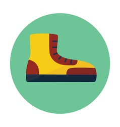 boot outline icon vector image